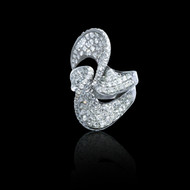 Diamond Wave Eternally Beautiful Ring
