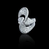 Diamond Wave Eternally Beautiful Ring