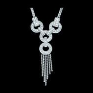 Diamond Strength, Balance and Wisdom Necklace