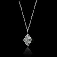 Diamond Kite Necklace