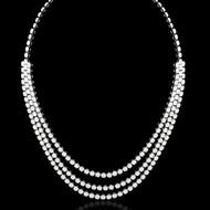 Triple Line Eternally Beautiful Necklace