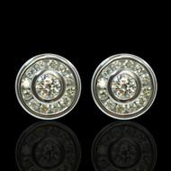 The World Revolves Around Me Diamond Earrings