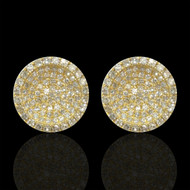 """Just Because"" Diamond Bowl Earrings"