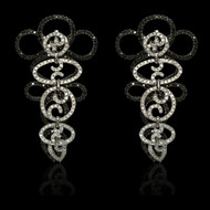 """Just Because"" Hexagon Diamond Lace Earrings"