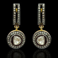 Heritage Balance Diamond Drop Earrings