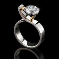 Adrenaline Rush Engagement Ring