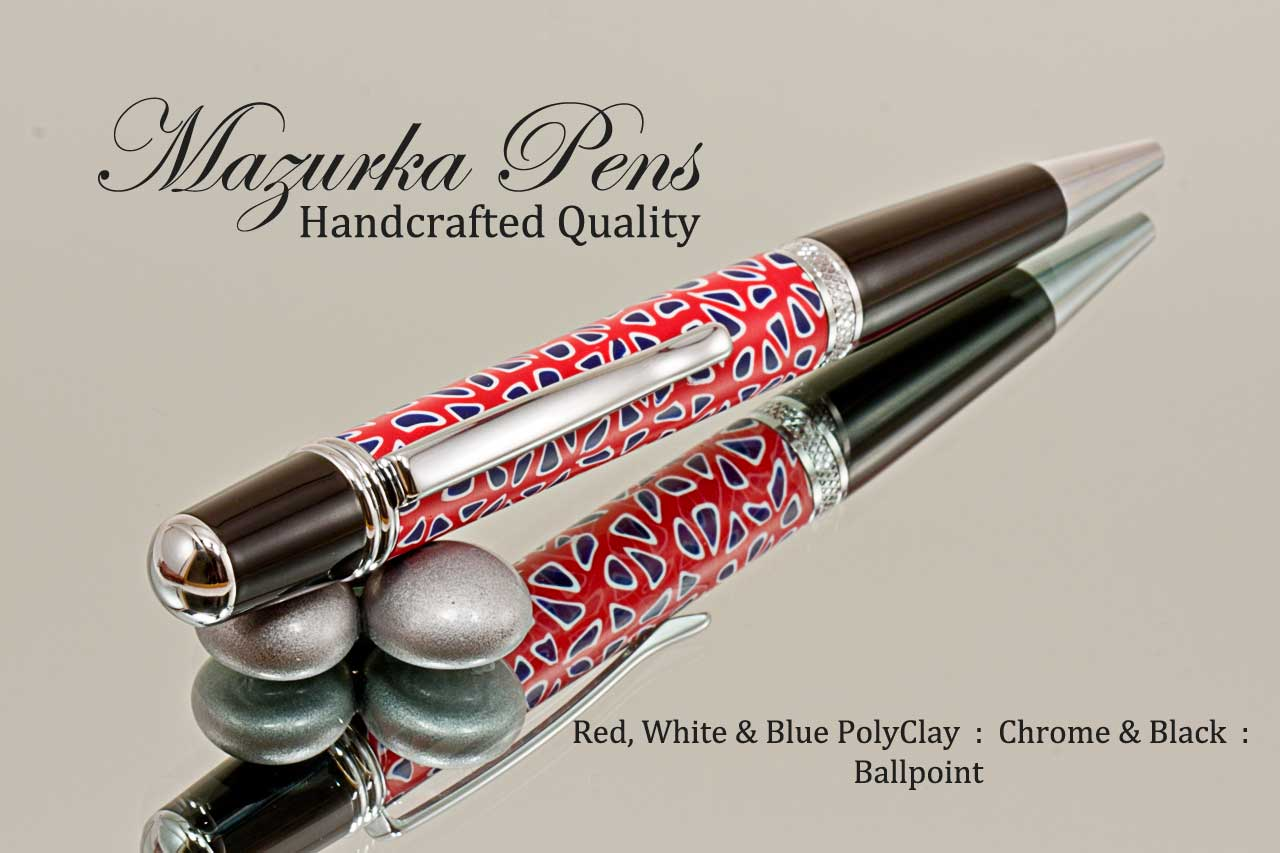 Handmade Polymer Clay pen