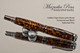 Golden Tiger Resin with Wood Rollerball