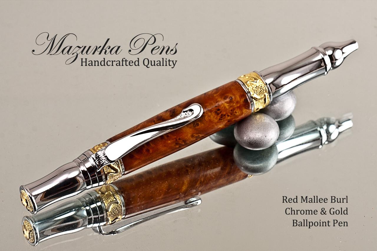 Redwood Burl Ballpoint Pen
