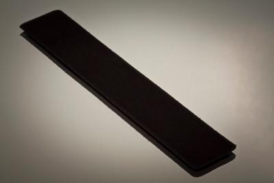 Black velvet pen sleeve protector