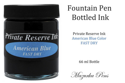 American Blue Private Reserve Ink Color - 66 ml bottle