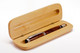 Maple hinged pen / pencil box or pen case.  Opens to reveal your handmade pen.  (pen shown is not included)