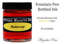 Private Reserve Fountain Pen Liquid Bottled Ink - Buttercup