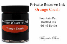 Private Reserve Fountain Pen Liquid Bottled Ink - Orange Crush