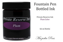 Private Reserve Fountain Pen Liquid Bottled Ink - Plum Color