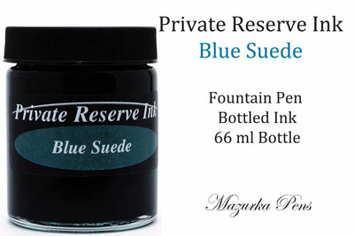 Private Reserve Fountain Pen Liquid Bottled Ink - Blue Suede