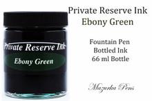 Private Reserve Fountain Pen Liquid Bottled Ink - Ebony Green
