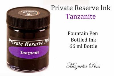 Tanzanite color Private Reserve liquid ink - 66 ml bottle