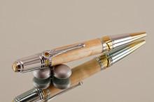 Handmade Pen Maple Chrome/Gold