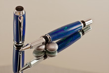 Mazurka Lapis and Malachite Pen