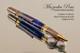 Art Deco Handmade Ballpoint Pen Sodalite TruStone