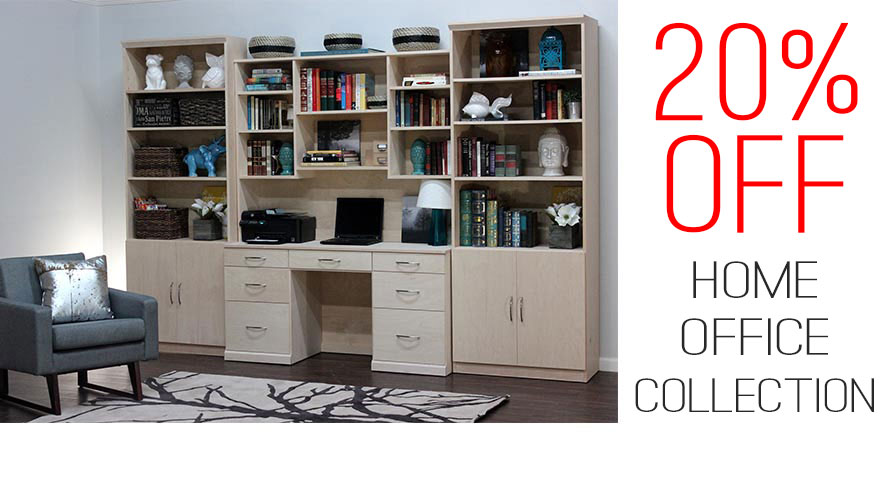 20% OFF HOME OFFICE - EXP: 7/15