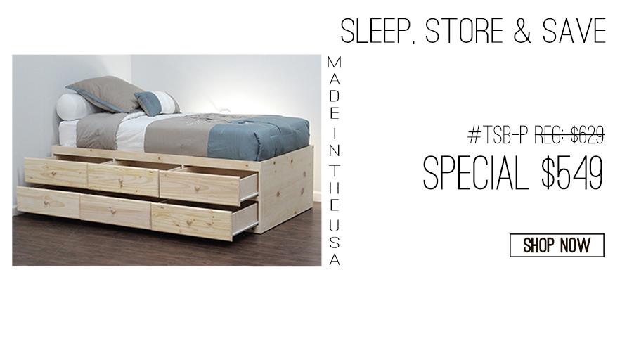 Original Captains Beds