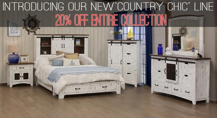20% OFF COUNTRY CHIC COLLECTION