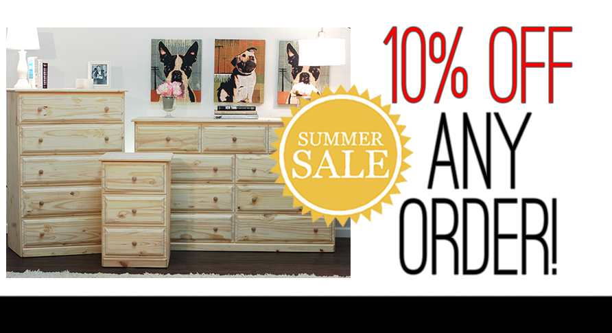 10% OFF ANY ORDER - EXP: 7/15