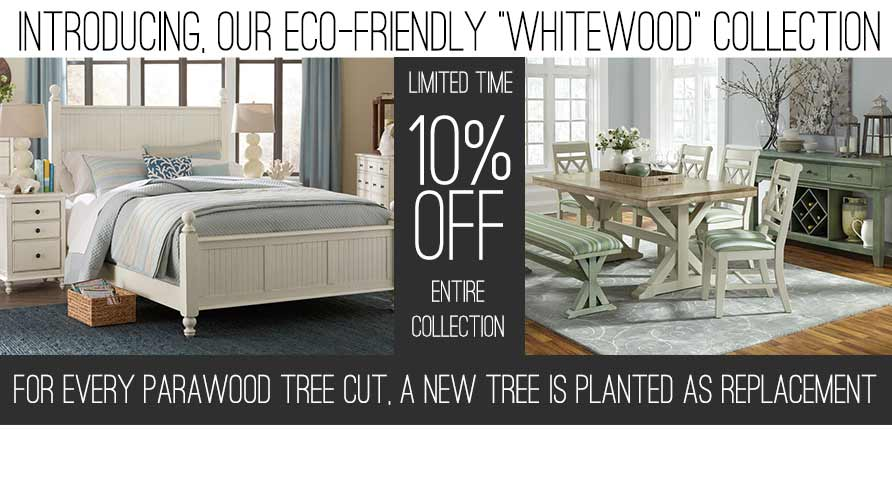 10 OFF WHITEWOOD COLLECTION