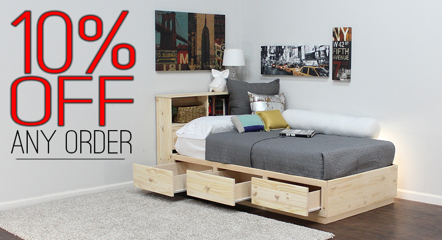 Receive 10% Off