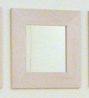 "CLEARANCE - Birch Wood Square Mirror 20"" x 20"""