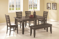5-Piece Set with Optional Bench
