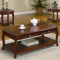 Ellegant Coffee Table and 2 End Table Set