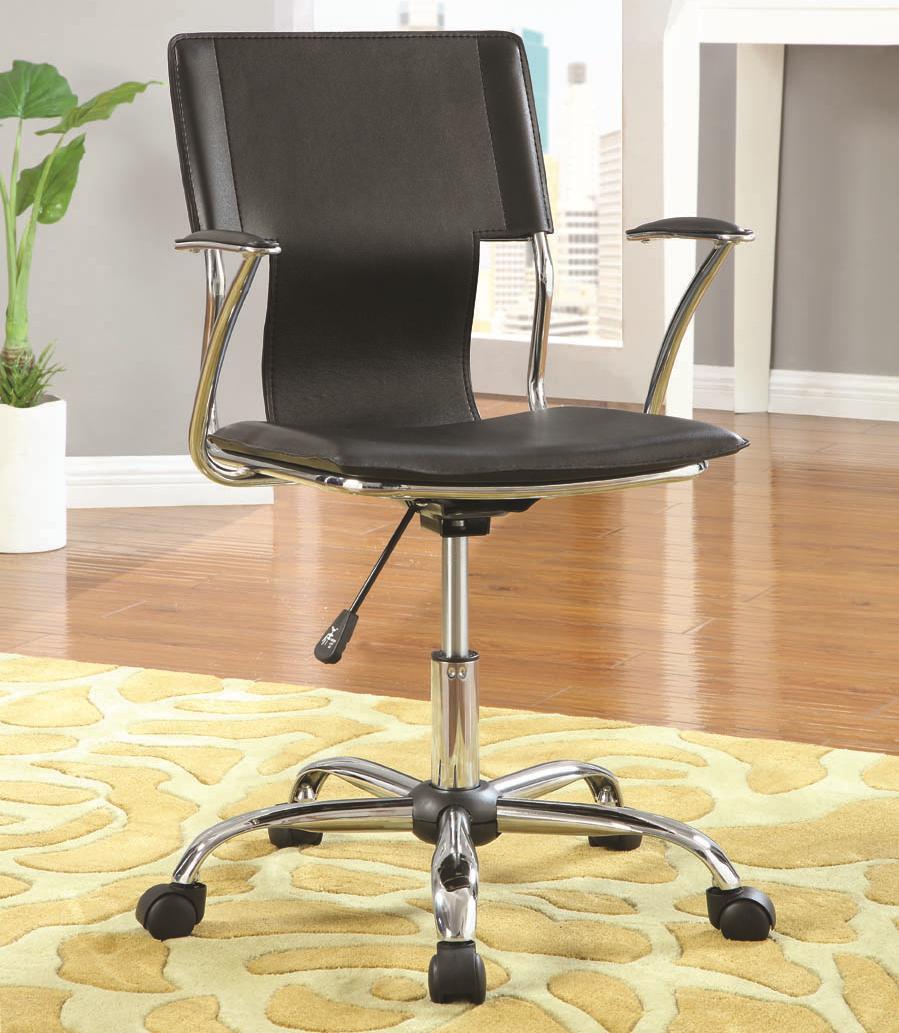 Ergo Office Black Task Chair