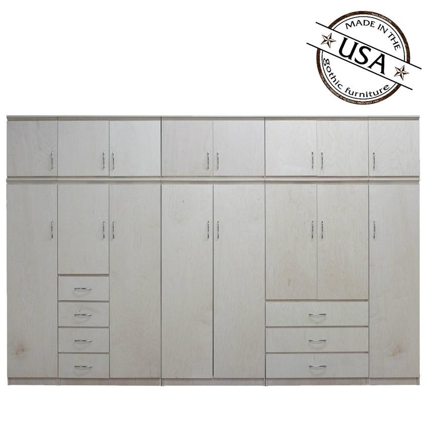 Village Kitchen Farmingdale: Flat Iron 10 Piece Closet System