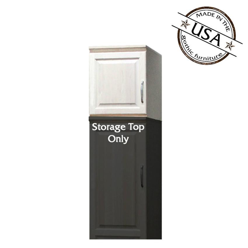 Raised Panel Storage Top W 1 Door Opens Left To Right