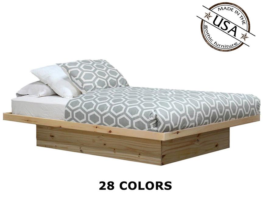 full platform bed. Image 1 Full Platform Bed