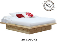 King Platform Bed | Pine Wood