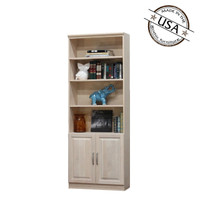 "Raised Panel Wall Unit with 2 Doors 12"" Deep"