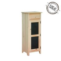 Tin Insert Storage Cabinet 16¼ x 18 x 46¼
