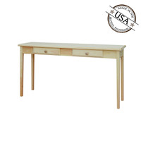 Large Two Drawer Sofa Table