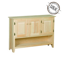 Cabinet With 3 Doors and Shelf