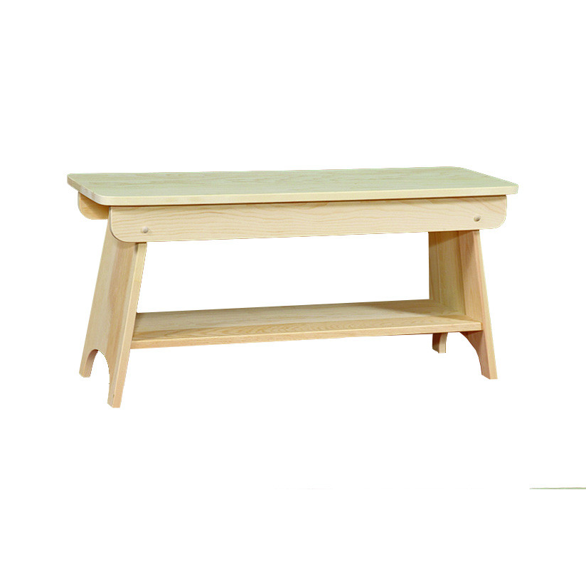 Bench With Shelf 36 Wide
