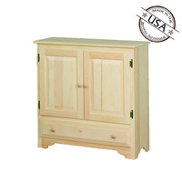 Cabinet With 2 Doors & Drawer