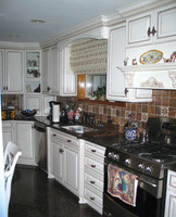 CUSTOM - White Country Kitchen