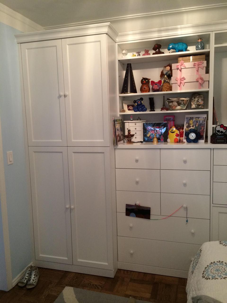 Custom Kids Built In Bedroom Storage