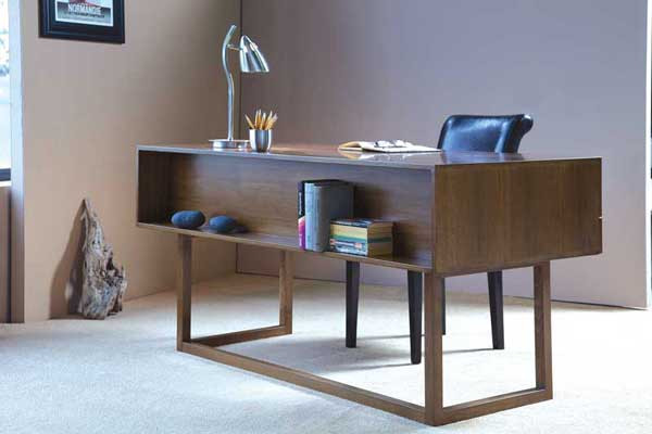 custom made office furniture. Front View Of Desk Custom Made Office Furniture