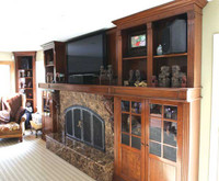CUSTOM - Fireplace Wall Unit