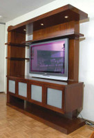 CUSTOM - Modern Entertainment Center